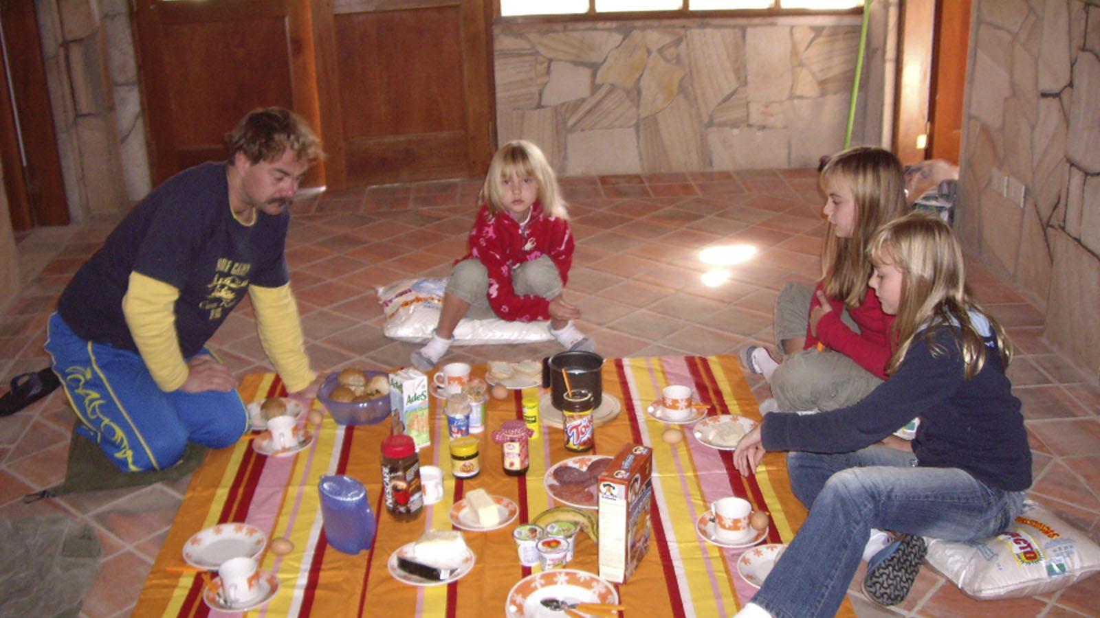 Frühstück in Paraguay