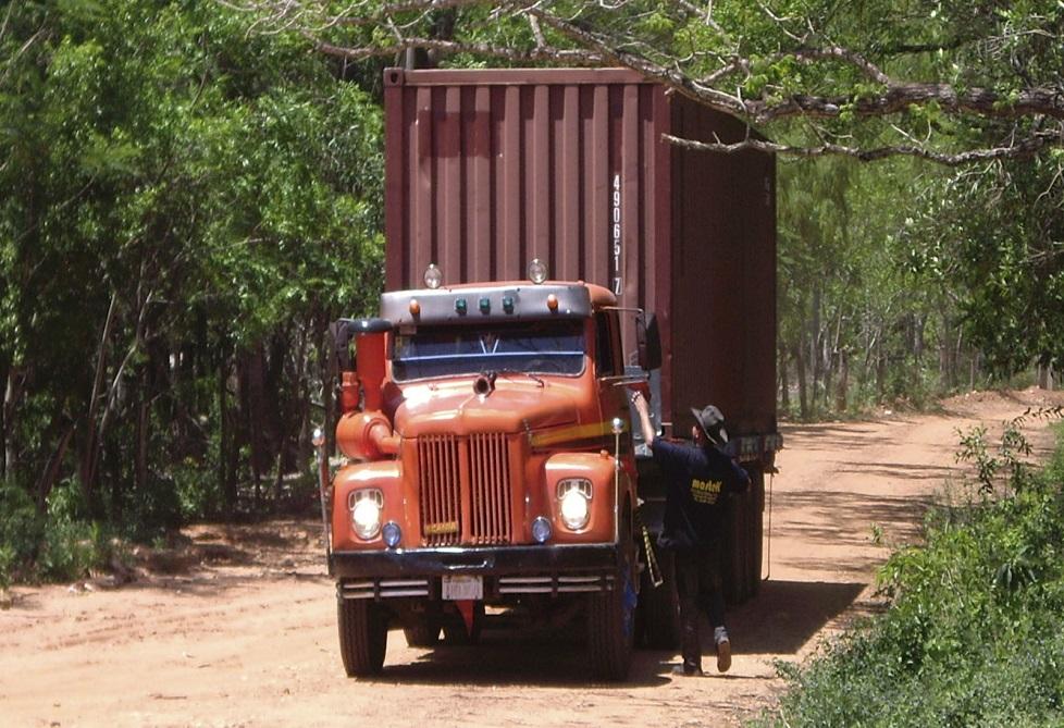 LKW Container formatiert